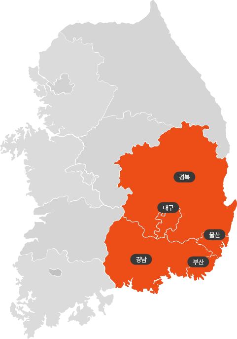 부산지사 지도